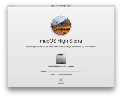 Загрузка образа macOS Mojave